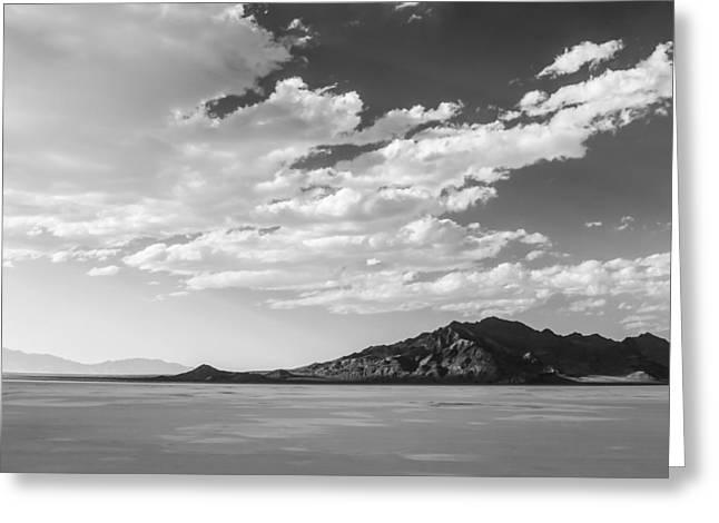 Heaven On The Salt- Bonneville Salt Flats Greeting Card