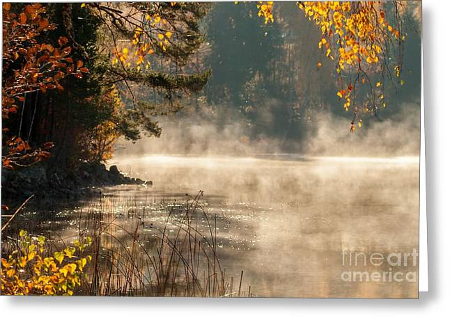 Greeting Card featuring the photograph Heavenly Atmosphere by Rose-Maries Pictures