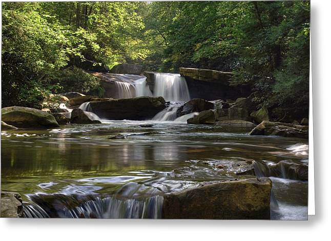 Heavenly Bliss On Decker Creek Greeting Card
