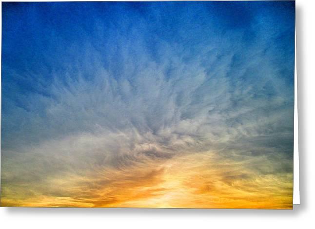 Heavenly Skies Greeting Card