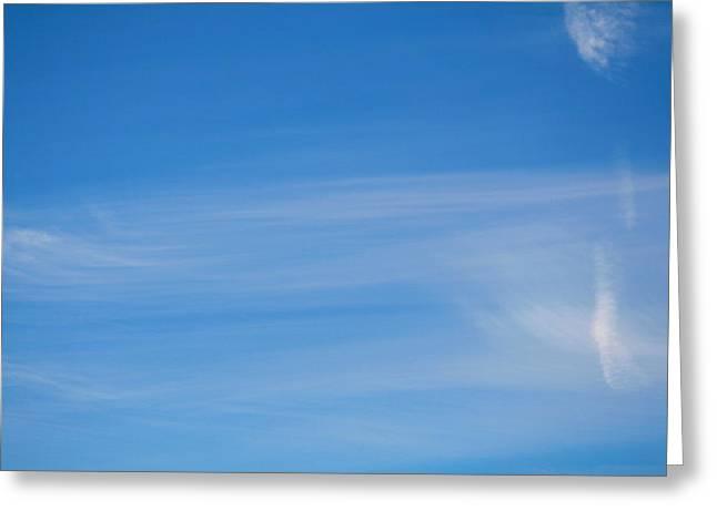 Heavens Brush Greeting Card by Stanislav Killer
