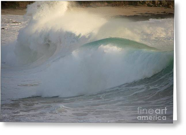 Heavy Surf At Carmel River Beach Greeting Card