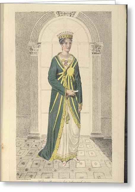 Hebrew Queen Greeting Card