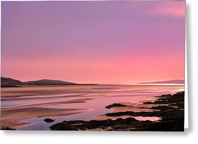 Greeting Card featuring the photograph Hebridean Twilight by Jacqi Elmslie