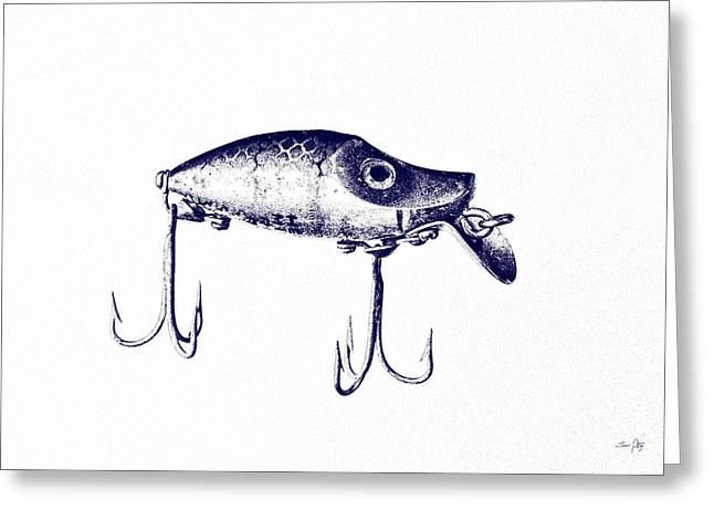 Heddon River Runt  Greeting Card by Scott Pellegrin
