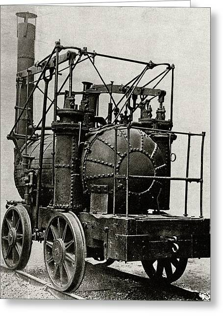 Hedley's Puffing Billy Greeting Card