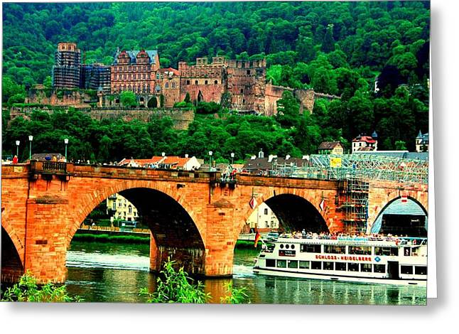 Heidelberg Castle Greeting Card