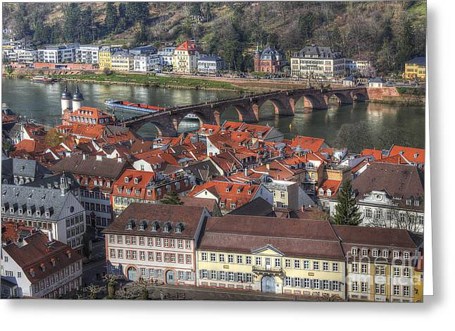 Heidelberg Germany 2 Greeting Card