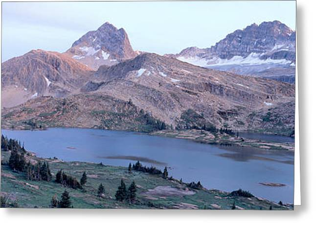 Height Of The Rockies Wilderness Area Greeting Card by Panoramic Images