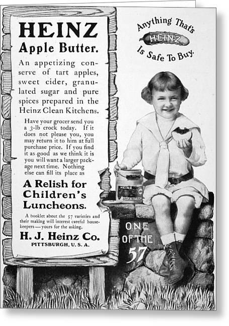 Heinz Apple Butter Greeting Card