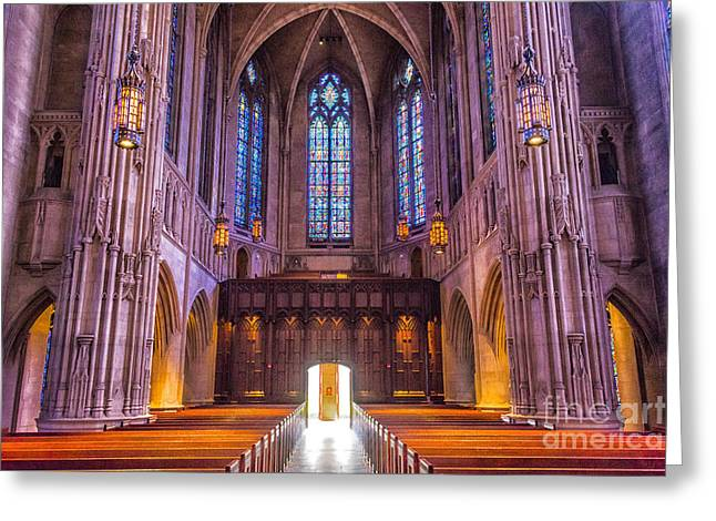 Heinz Chapel Interior Greeting Card