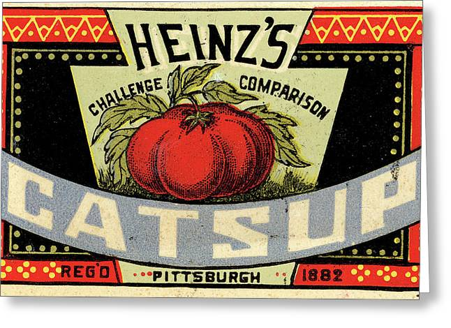 Heinz Ketchup Greeting Card by Us National Archives