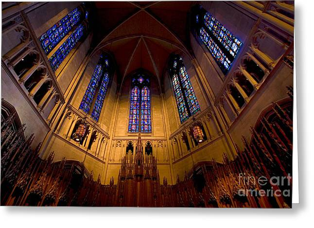Heinz Memorial Chapel Pittsburgh Pennsylvania Greeting Card by Amy Cicconi