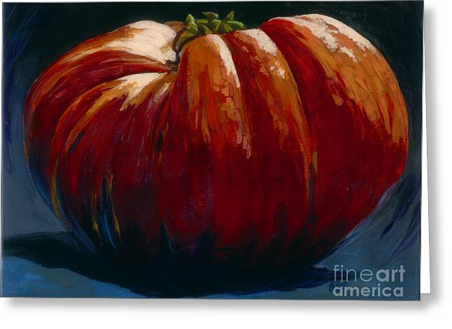 Heirloom Tomato Greeting Card