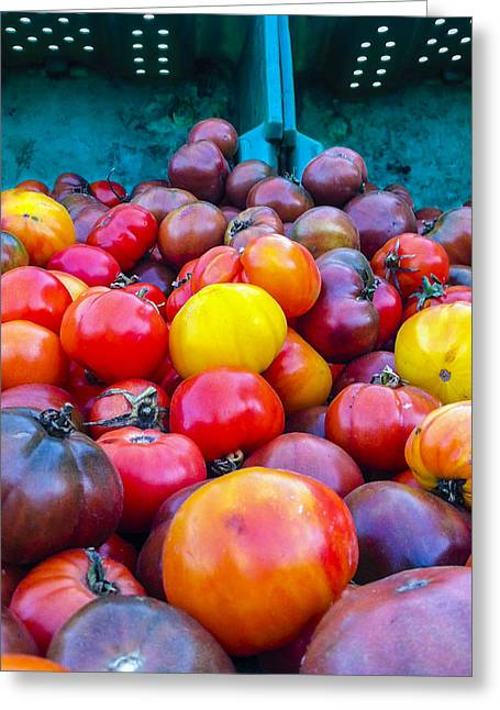 Heirloom Tomatoes V. 2.0 Greeting Card by Dennis Reagan