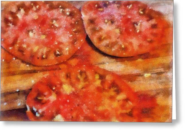 Heirlooms With Salt And Pepper Greeting Card