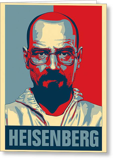 Heisenberg Greeting Card by Taylan Apukovska