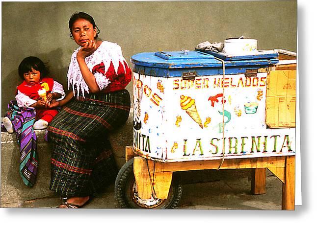 Helados La Sirenita Greeting Card