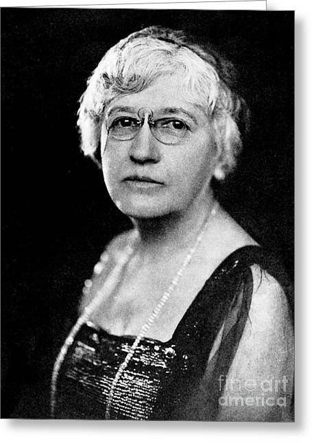 Helen Hamilton Gardener, Suffragist Greeting Card by Wellcome Images