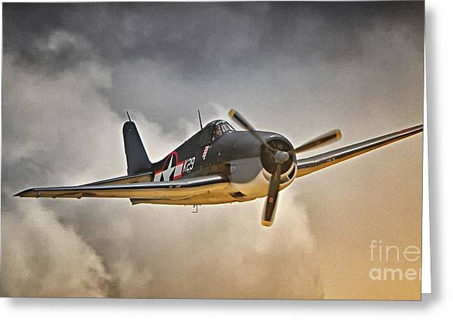 Hellcat Dawn Patrol Greeting Card