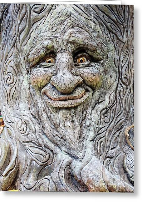 Hello Tree Greeting Card