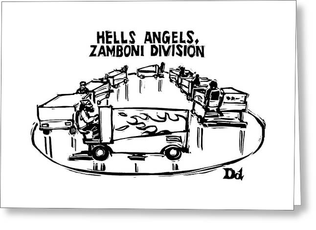 Hells Angels Greeting Card