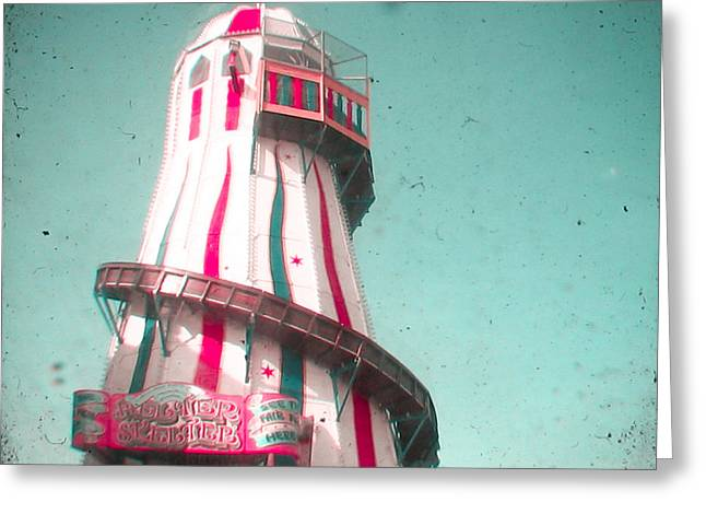 Helter Skelter Greeting Card by Cassia Beck