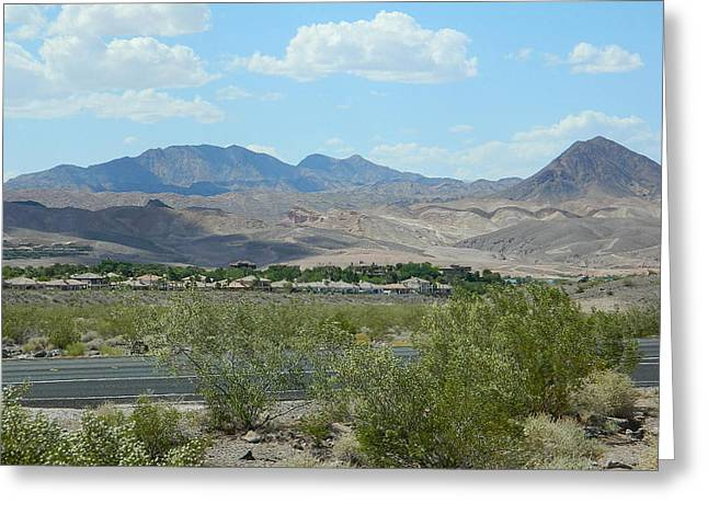 Greeting Card featuring the photograph Henderson Nevada Desert by Emmy Marie Vickers