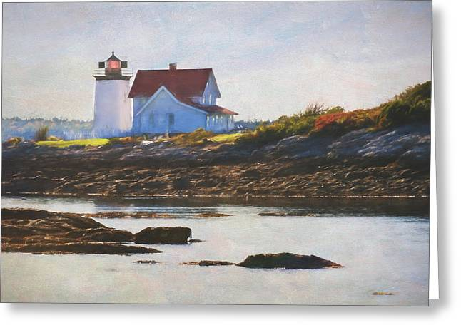 Hendricks Head Lighthouse - Maine Greeting Card
