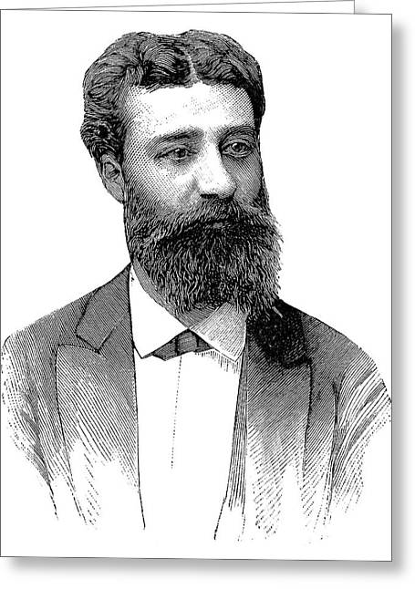 Henri Moissan Greeting Card by Science Photo Library