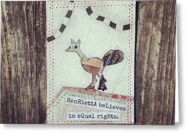 Henrietta Greeting Card