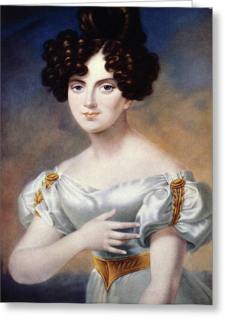 Henriette Sontag (1806-1854) Greeting Card by Granger