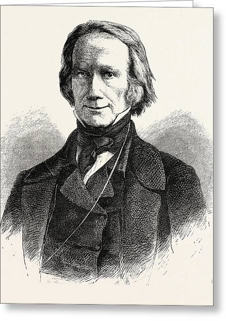 Henry Clay, 1777-1852, He Was A Lawyer, Politician Greeting Card by English School
