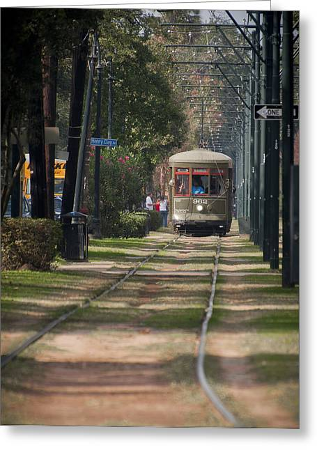 Henry Clay Avenue Streetcar Greeting Card