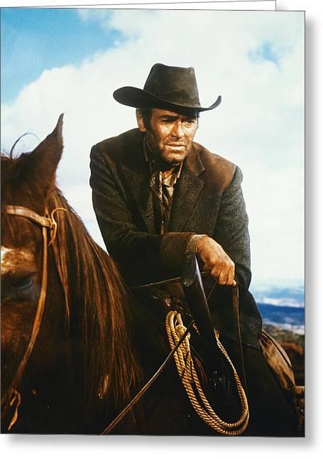 Henry Fonda In Firecreek  Greeting Card by Silver Screen