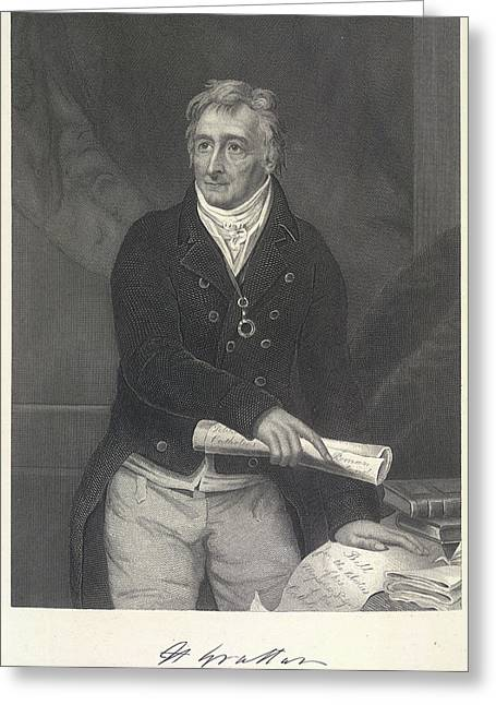 Henry Grattan Greeting Card by British Library