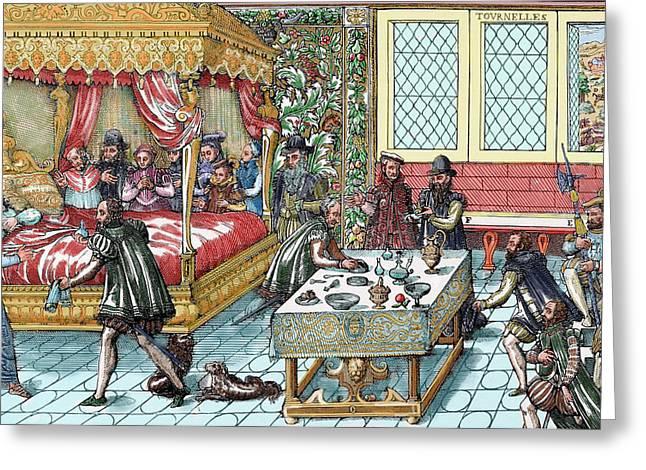 Henry II (1519-1559 Greeting Card