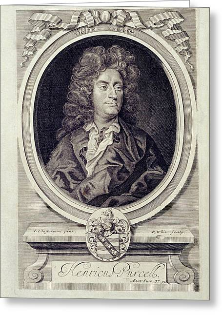 Henry Purcell Greeting Card by British Library