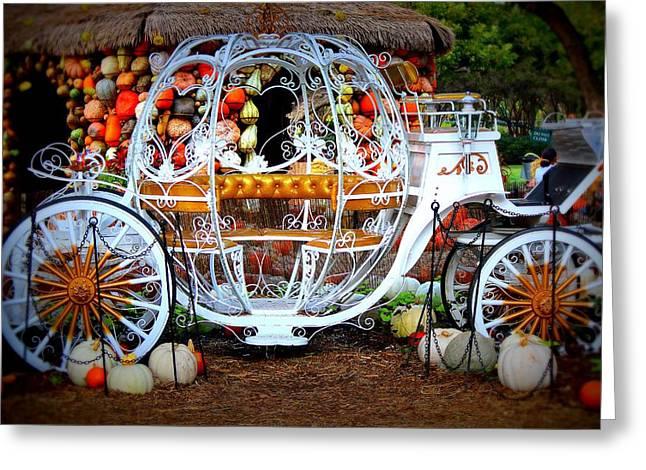 Her Chariot Awaits Greeting Card by Sherwanda  Irvin