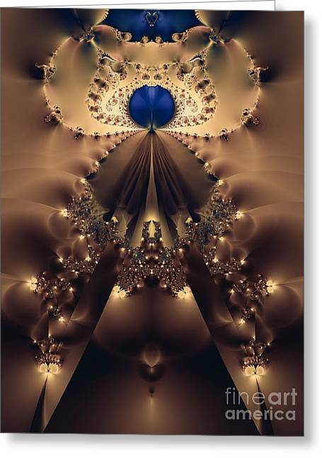 Her Majesty Greeting Card by Sharon Woerner