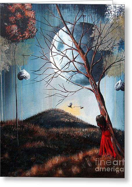 Fantasy Art Print By Shawna Erback Greeting Card