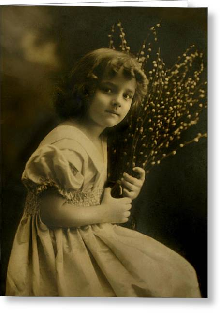 Her Name Was Asta Greeting Card by Nina Fosdick