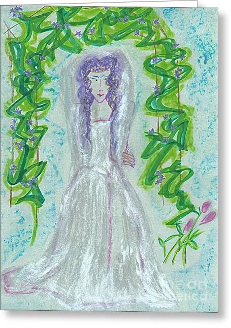 Hera Juno Greeting Card by First Star Art