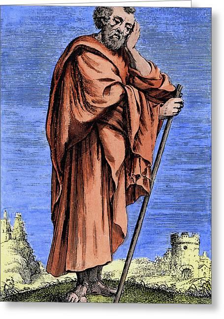 Heraclitus Greeting Card