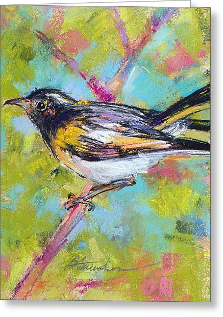 Herald Of Spring Greeting Card by Beverly Amundson