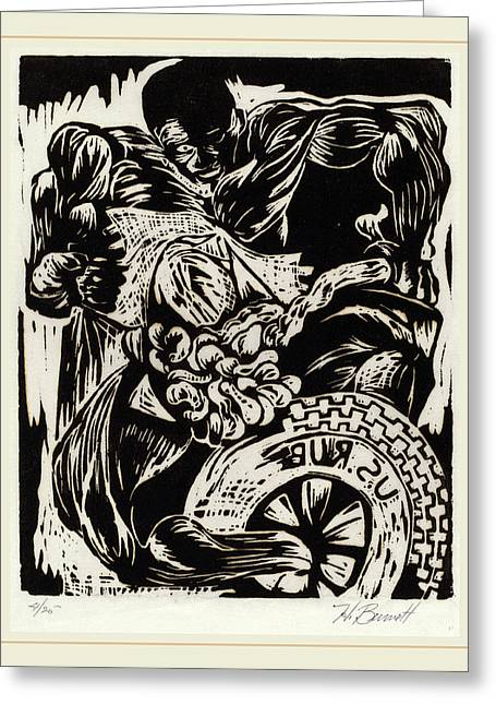 Herbert Bennett, Untitled Frustration, American Greeting Card