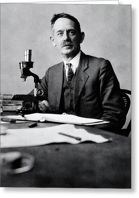 Herbert Jennings Greeting Card by National Library Of Medicine