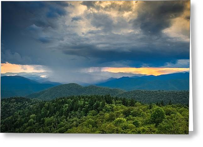 Greeting Card featuring the photograph Here Comes The Rain by Joye Ardyn Durham