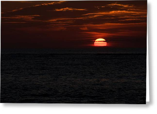Greeting Card featuring the photograph Here Comes The Sun by Greg Graham