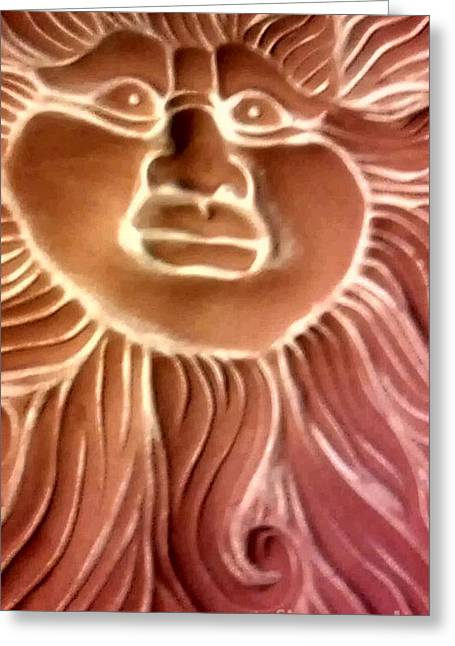 Here Comes The Sun Greeting Card by Marlene Williams